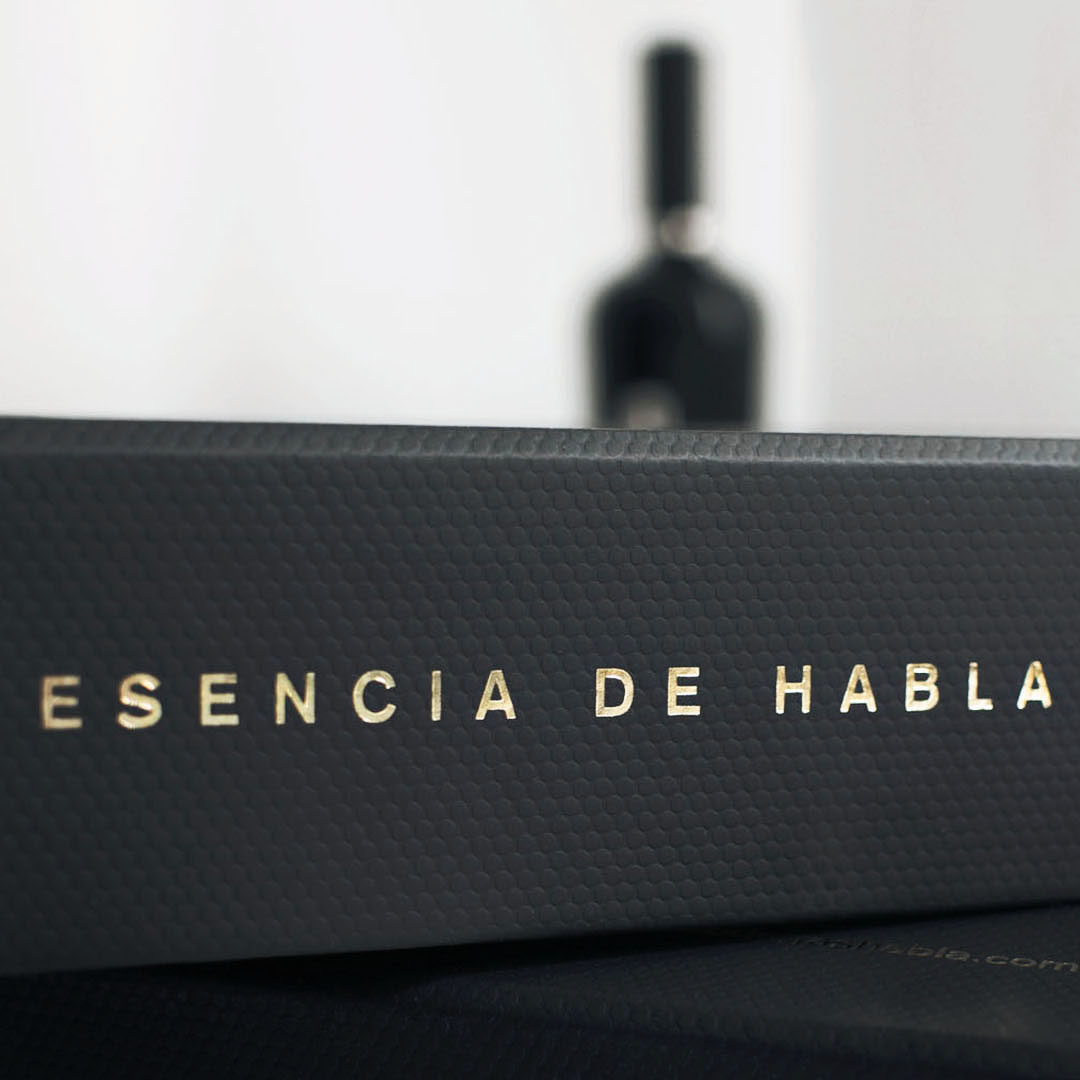 diseño de los vinos Habla - Valentín Iglesias - esencia de Habla