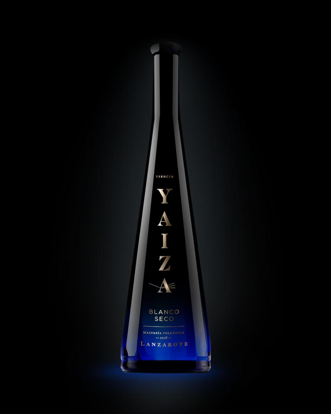 Diseño del vino Yaiza de Lanzarote