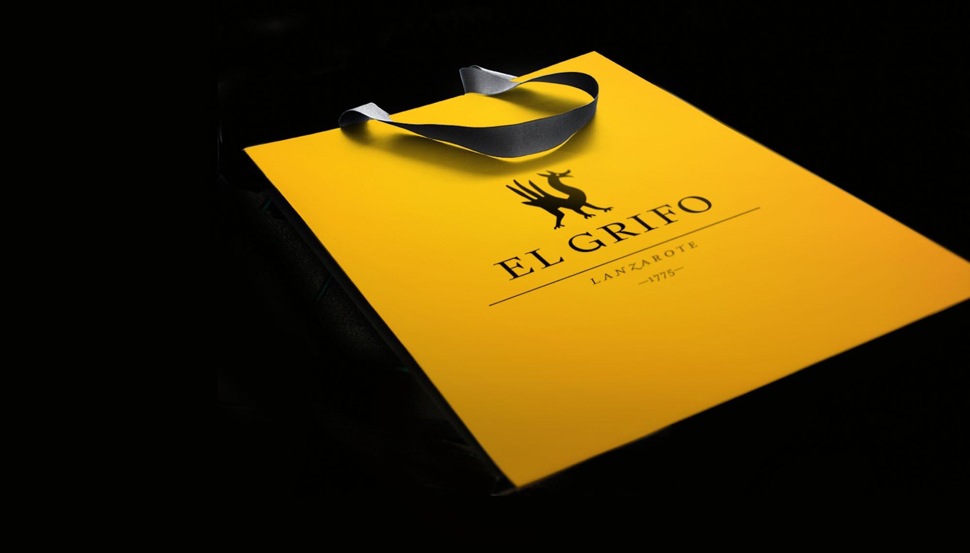 Bodegas El Grifo Lanzarote - diseño de marca