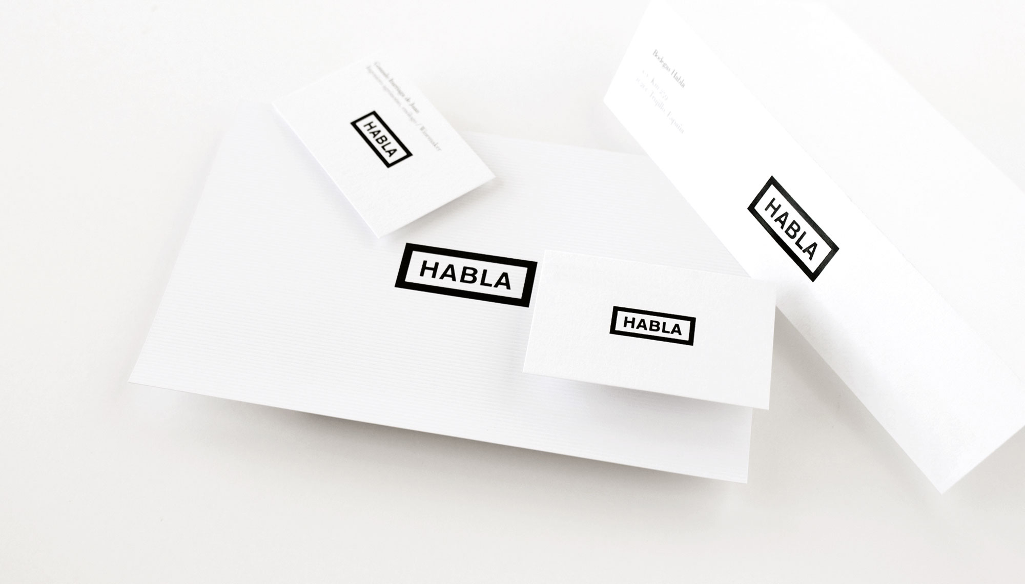 diseño de los vinos Habla - identidad corporativa - Valentín Iglesias