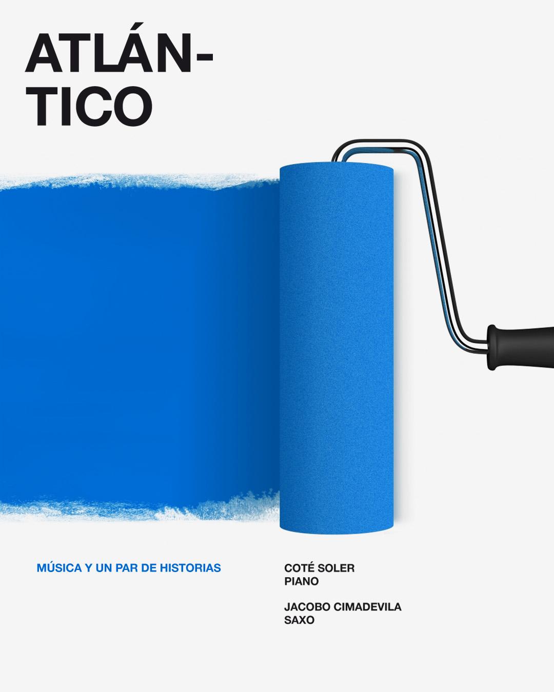 diseño de poster Atlántico
