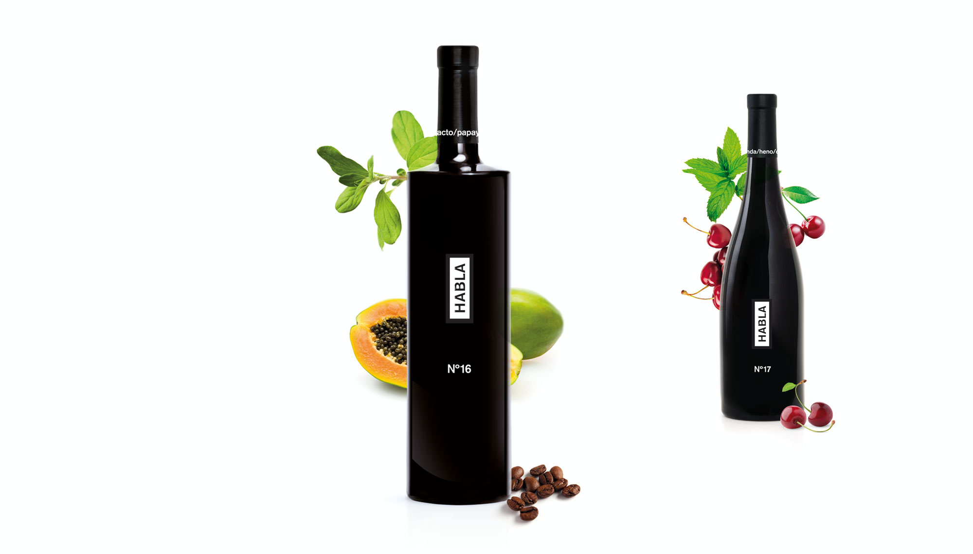 Bodegas Habla diseño de los vinos Habla - Valentín Iglesias