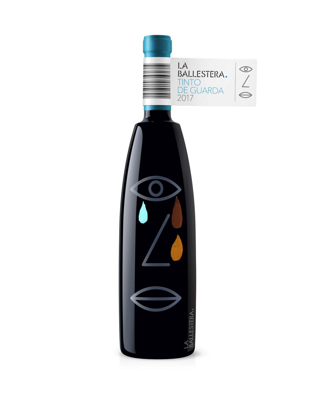 Etiquetas de vino experimentales para La Ballestera