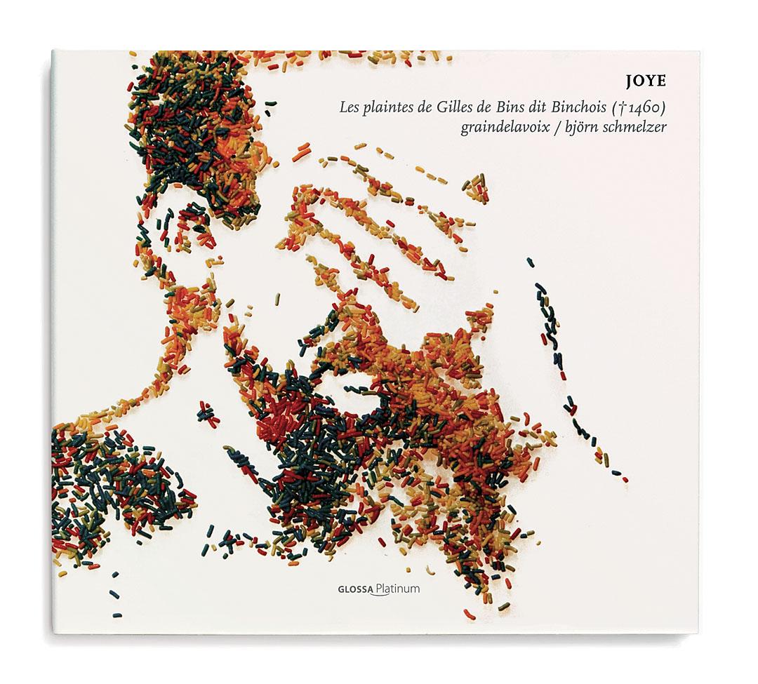 Diseño de portadas de discos CD Glossa Music - Valentin Iglesias
