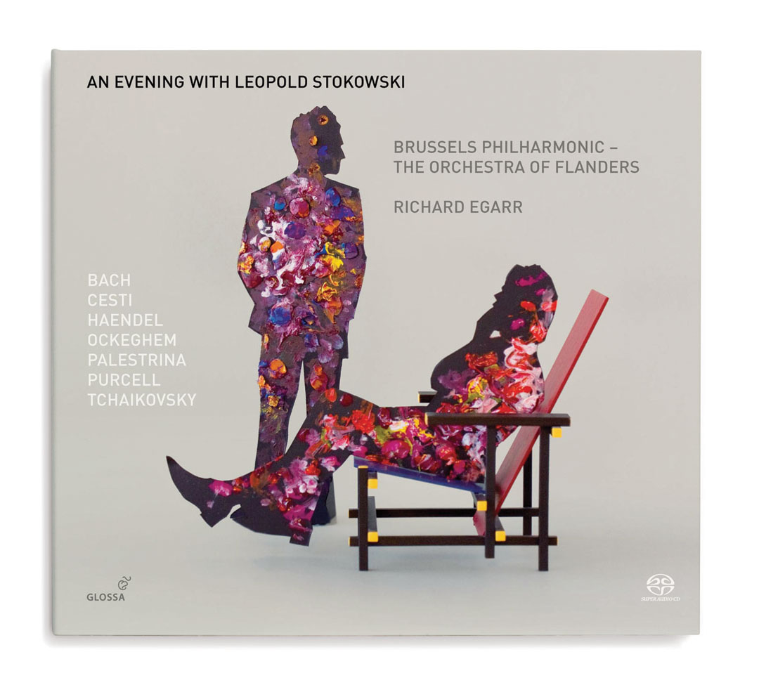 Diseño de portadas de discos CD Glossa Music