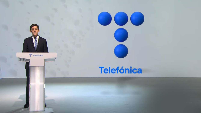 Pallete presenta el nuevo logo de telefonica